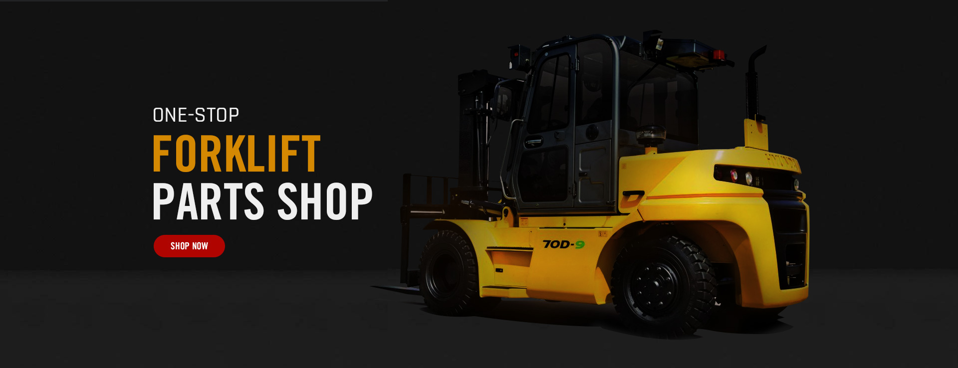 wide range brand of forklift parts